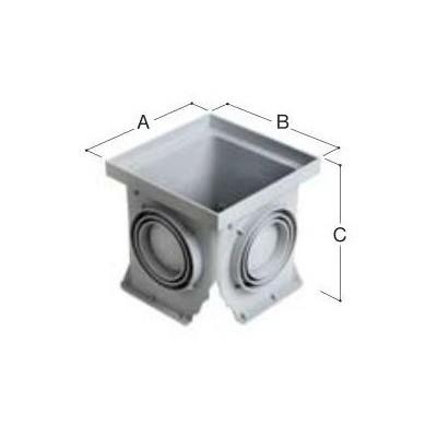 Studzienka ściekowa bez dna 300x300 mm