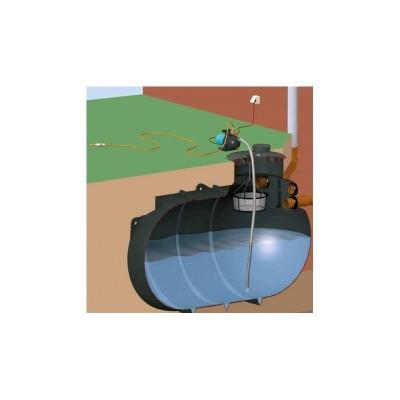 Podstawowy zestaw ogrodowy na wodę deszczową z filtrem koszowym i zbiornikim AquaKing