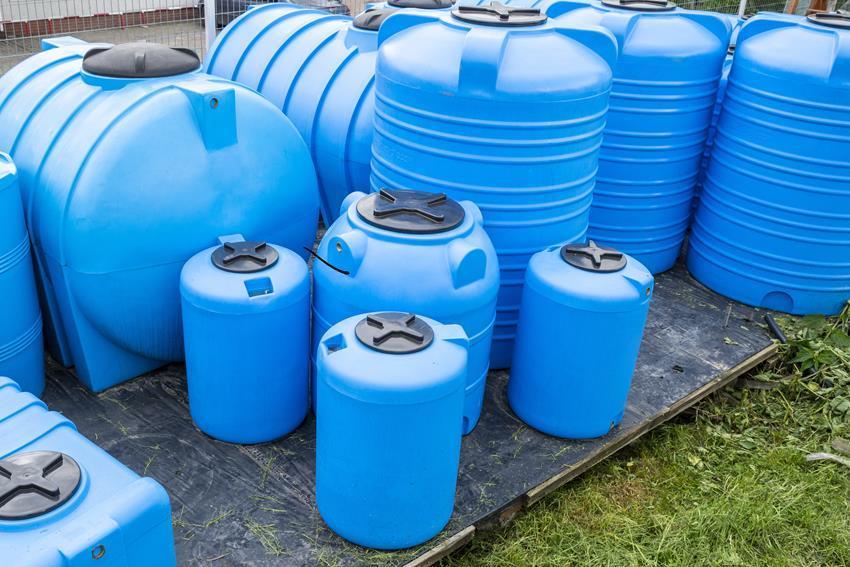 Zbiorniki na wodę pitną