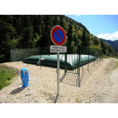 Zbiornik elastyczny do celów przeciwpożarowych