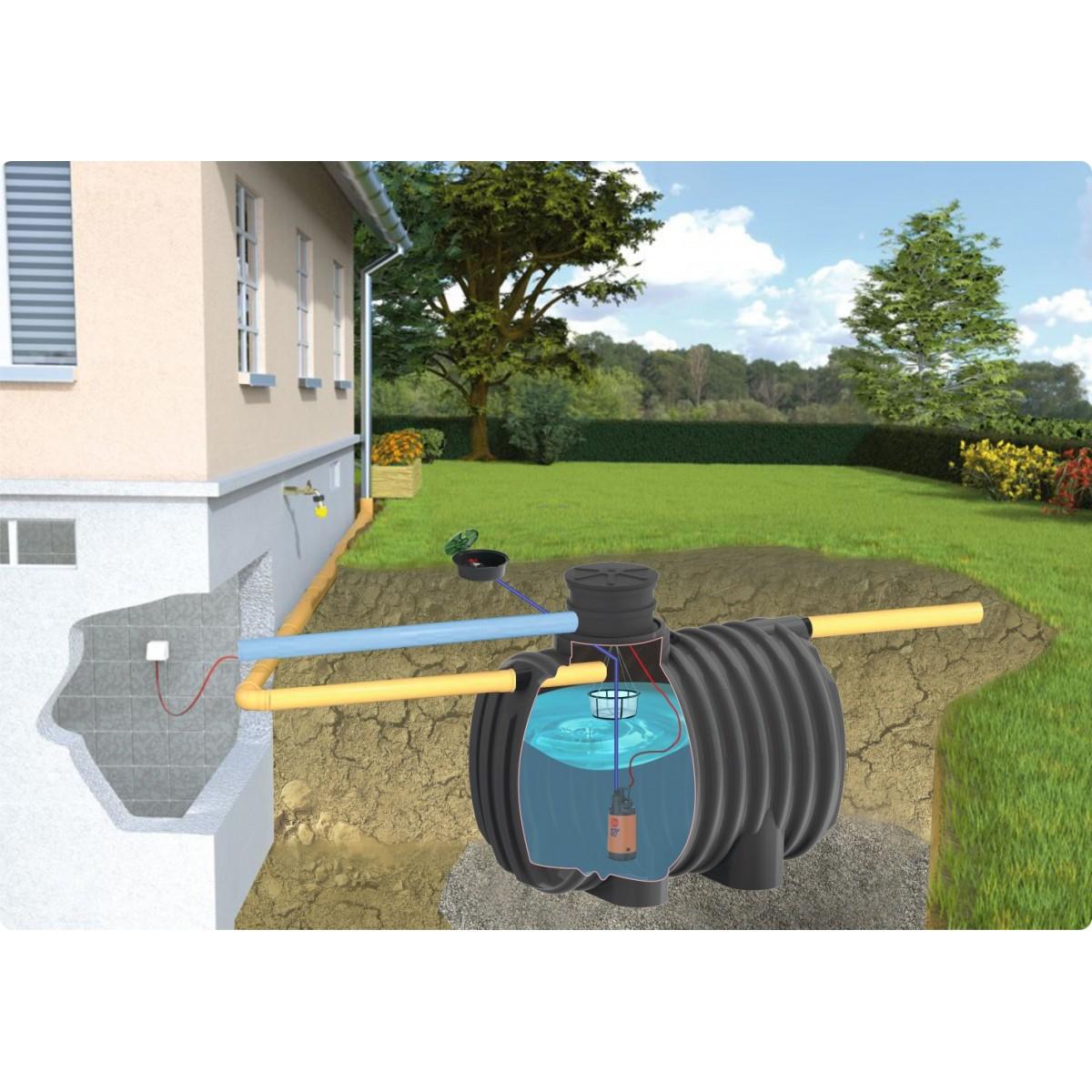 Zestaw ogrodowy standard ze zbiornikiem Ecoline