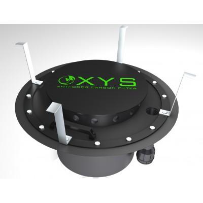 Filtr antyodorowy podwłazowy OXYS