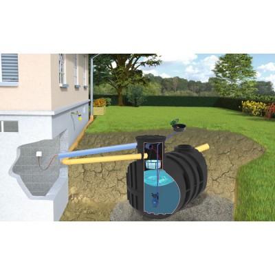 Zestaw ogrodowy SMART ze zbiornikiem Ecoline II