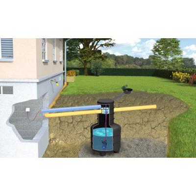 Zestaw ogrodowy SMART ze zbiornikiem EkoTank 1100 L