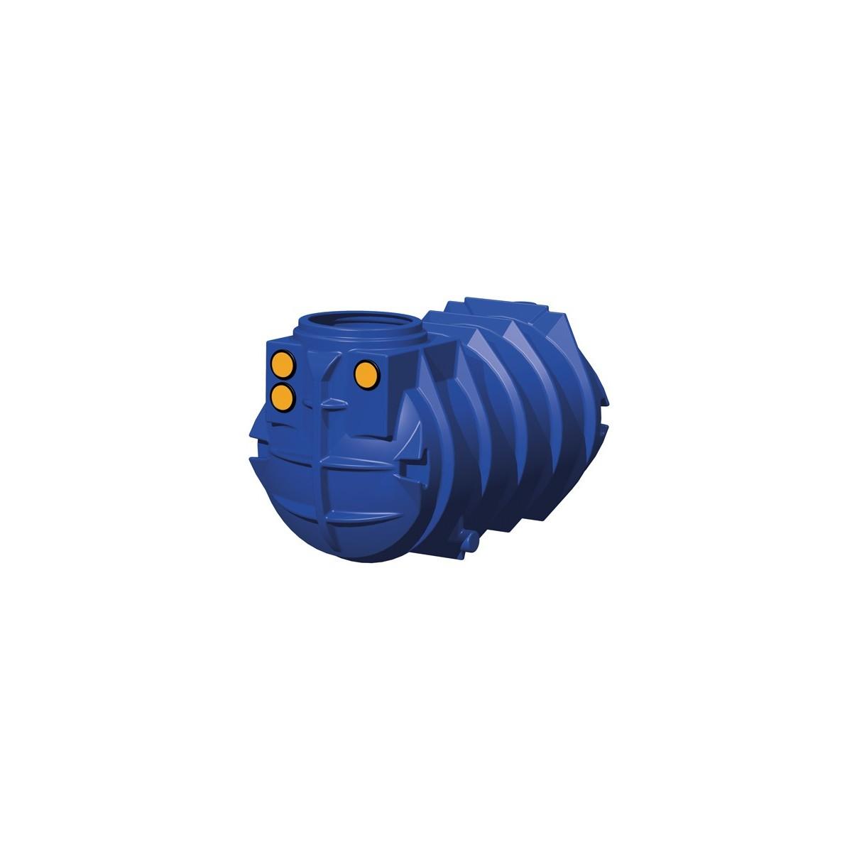 Zestaw domowy na wodę deszczową z filtrem koszowym i zbiornikim BlueLine II