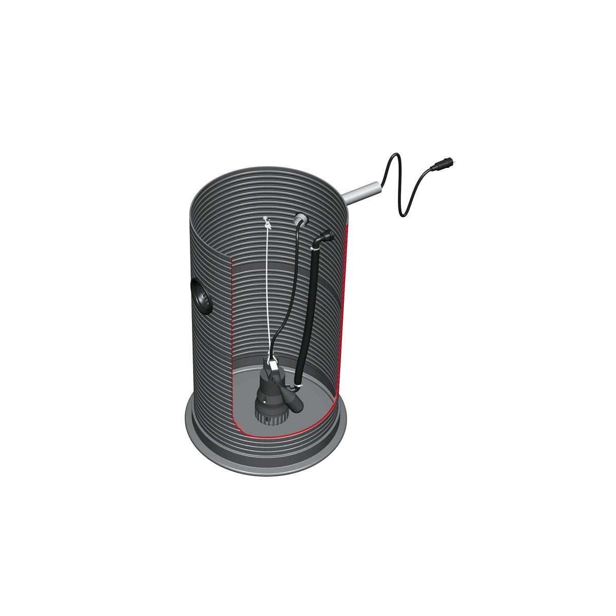 Kompletna przepompownia z rurą wznośną VS60