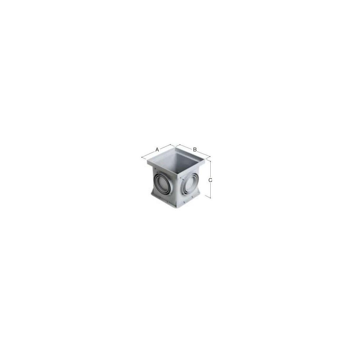 Studzienka ściekowa 300x300 mm